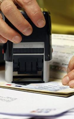 Visto Schengen per l'Italia